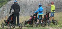Cimgo : un kart tout terrain permettant la descente de piste à ski avec des personnes handicapées