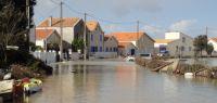 Dégâts et inondations à la suite du passage de Xynthia à Fouras (Charente-Maritime)