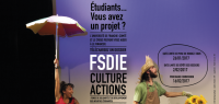 Visuel FSDIE / bourse Culture-ActionS