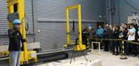 La machine de flexion pour des TP très professionnels en DUT Génie Civil - Construction Durable