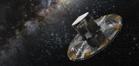 Vue d'artiste du satellite Gaïa