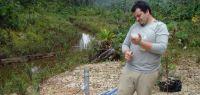 Sur le terrain, en Guyane
