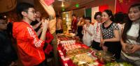 Le stand des étudiants chinois au «Tour du monde en 80 plats»