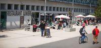 Photo du restaurant universitaire Lumière, campus de la Bouloie