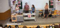 Présentation de la formation aux professeurs stagiaires en juillet 2015