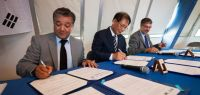 Signature de l'accord entre l'UFC, l'académie et la GNUE.