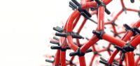 modèle de molécule en plastique