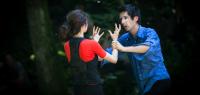 Un couple se disputant