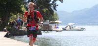 Photo de Thibault Lussiana pendant une course