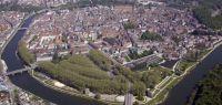 Vue aérienne de la Ville de Besançon