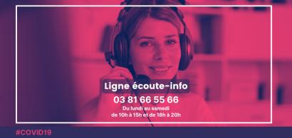 Ouverture d'une ligne écoute-info pour les étudiants de l'université de Franche-Comté