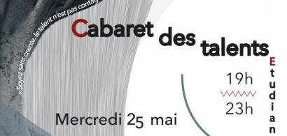 Les étudiants de TousGether (projet tuteuré département Carrières Sociales de l'IUT de Belfort-Montbéliard) vous invite à son Cabaret des Talents le 25 mai au Bar'Atteint à Belfort