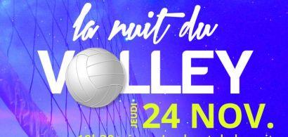 La Nuit du volley de la Mémo revient le 24 novembre 2016
