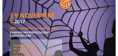 Nuit du Volley : la MéMO fête Halloween !