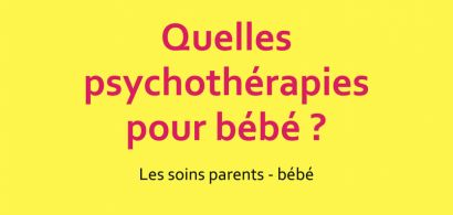 Affiche du colloque psychotherapie_bebe