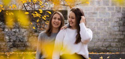 Portrait des deux étudiantes