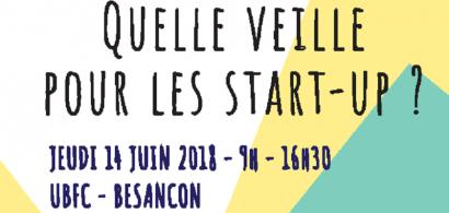 Affiche de la journée startup