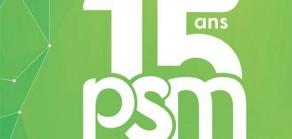 Affiche 15 ans PSM UFR STGi