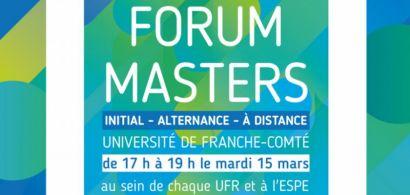 Affiche forum Masters