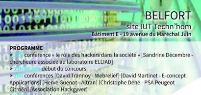2ème hackathon du département Informatique de l'IUT de Belfort-Montbéliard