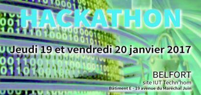 3ème hackathon du département Informatique d el'IUT de Belfort-Montbéliard