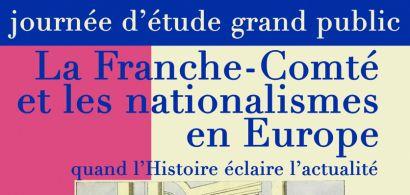 Affiche de la journée d'étude Franche-Comté et nationalisme en Europe