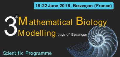 affiche 3rd Mathematical Biology Modelling