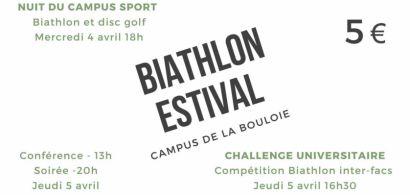 Affiche Biathlon Campus