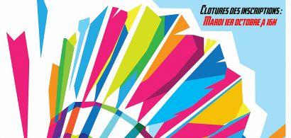 Affiche nuit du badminton
