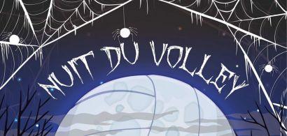 Affiche Nuit du Volley à Montbéliard