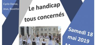 Affiche sensibilisation aux situations de handicap