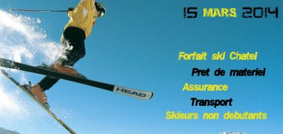 skieur effectuant un saut