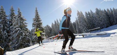 affiche ski de fond
