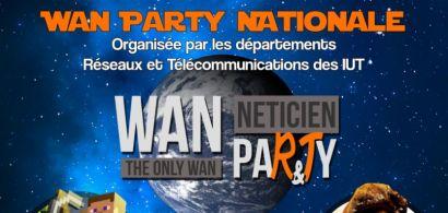 Le département Réseaux et Télécommunications de l'IUT de Belfort-Montbéliard participe à la 4ème Wan Party nationale le 12 mars 2016