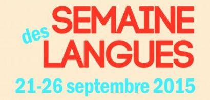 Semaine des langues à Besançon
