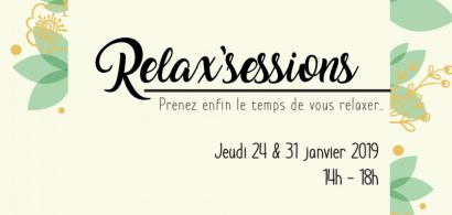 Affiche Relax'sessions