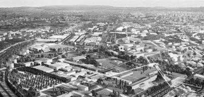 Campus Bouloie - Perspective d'intention urbaine à long terme