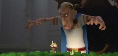 """Image de César extraite du film """"Astérix et le domaine des dieux"""""""