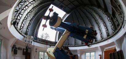 À l'intérieur de l'observatoire de Besançon