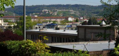 paysage urbain depuis le campus de la Bouloie