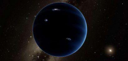 Image de synthèse de la neuvième planète
