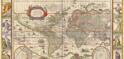 Carte 17e siècle