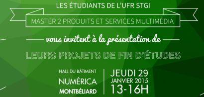 Invitation projets fins d'études master PSM 2