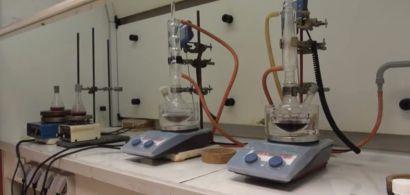 Paillasse de laboratoire
