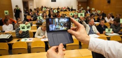 Photo d'illustration : colloque sur la pédagogie à l'ESPE