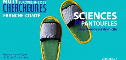 nuit des chercheurs - science en pantoufles
