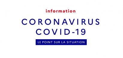 Point de situation Coronavirus