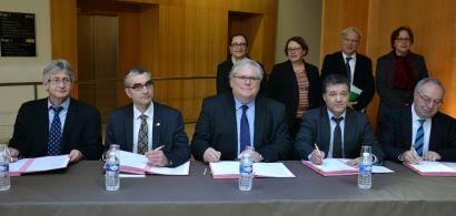 Signature de la convention quinquenale de site du CNRS
