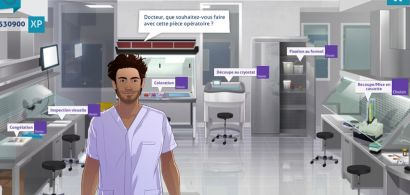 Serious Game Discovering Pathology