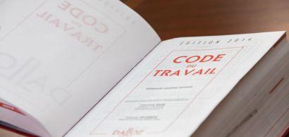 Photo du code du travail